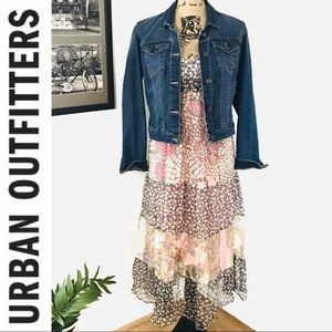 UA | Kimchi & Blue Patchwork Silk Maxi Dress 🖤